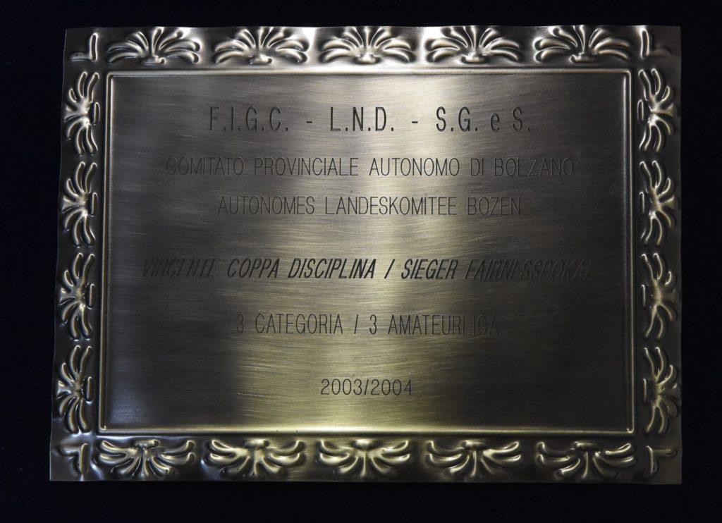 Coppa disciplina 2003-2004