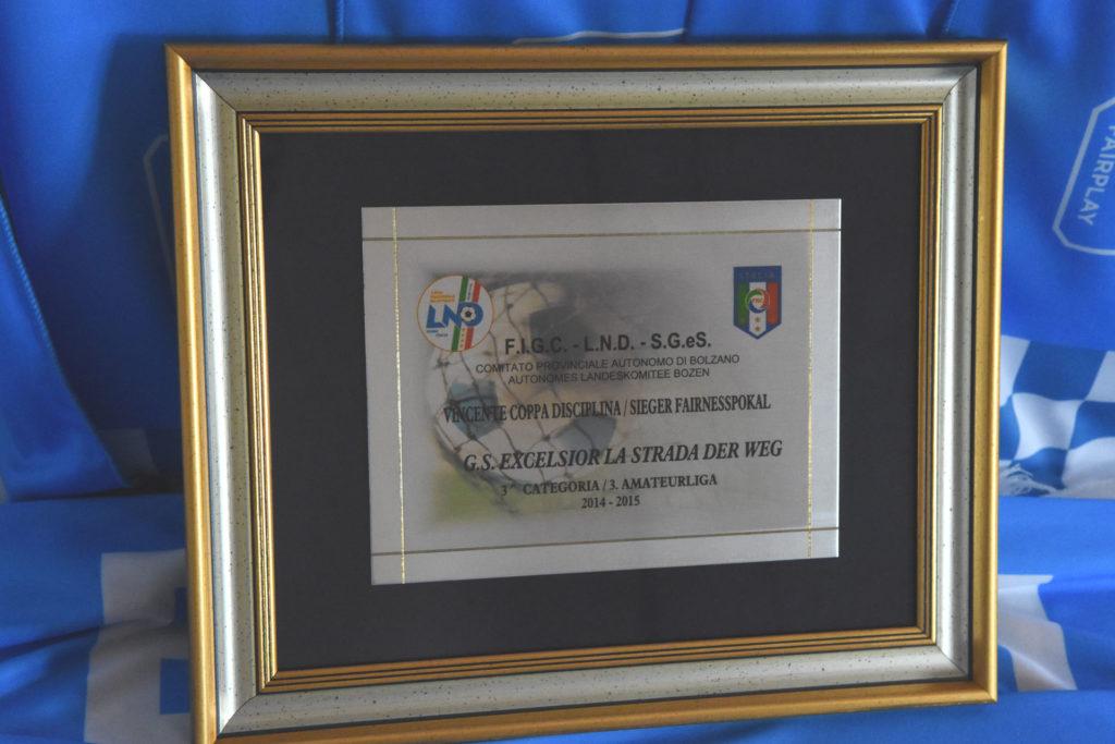 Coppa disciplina 2014-2015